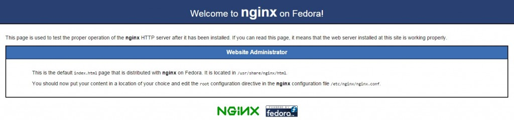 Nginx + php-fpm на CentOS 7