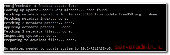 freebsd 10.2 update fetch