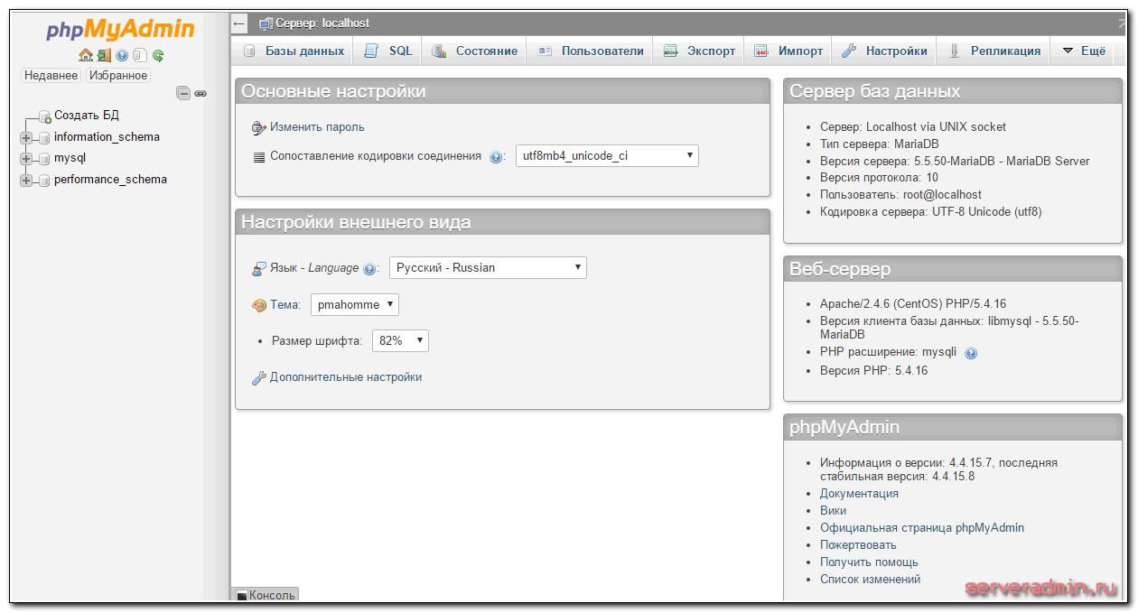 Настройка centos для отправки сообщений с сайта онлайновые сервера в вов 3.1.3