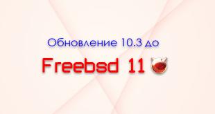 Обновление freebsd 10.3 до 11.0