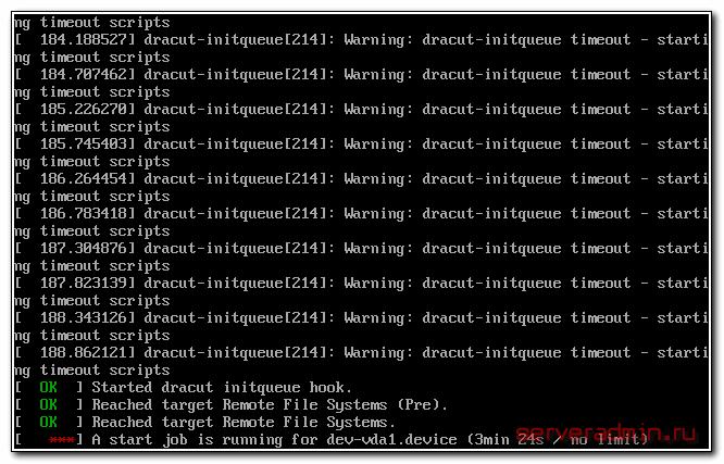 Ошибка после переноса с kvm на hyper-v