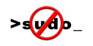 Зачем использовать sudo