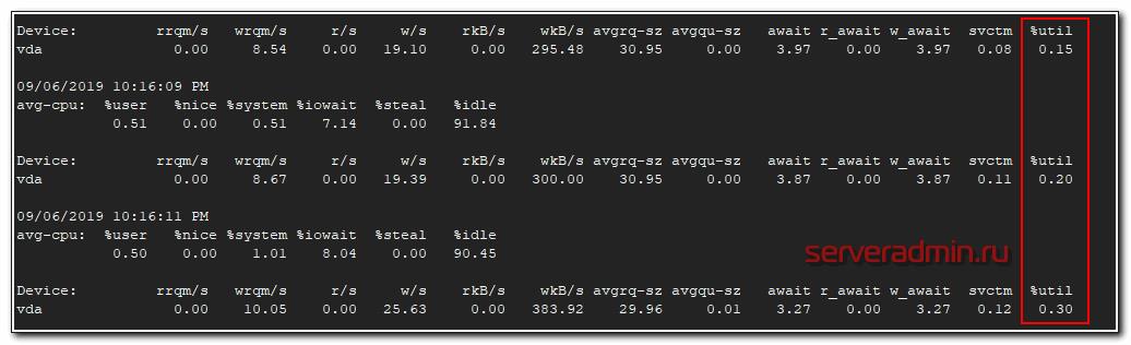 Проверка загрузки диска