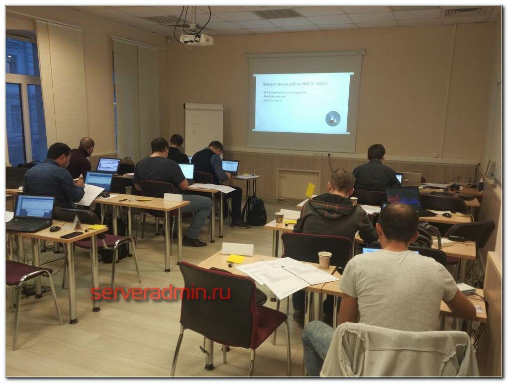 Учебный класс для обучение mtcna от курсы-по-ит.рф