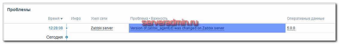 Старый шаблон zabbix agent