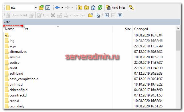 Подключение по sftp к bitrix