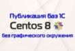 Публикация файловых баз в Centos