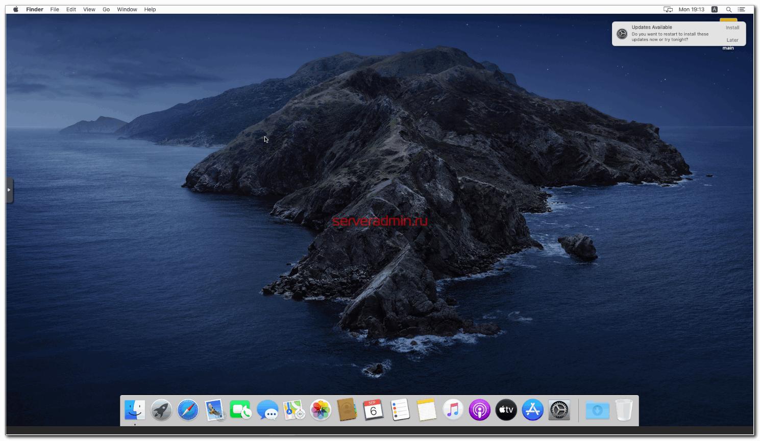 Система MacOS работает в виртуальной машине Proxmox